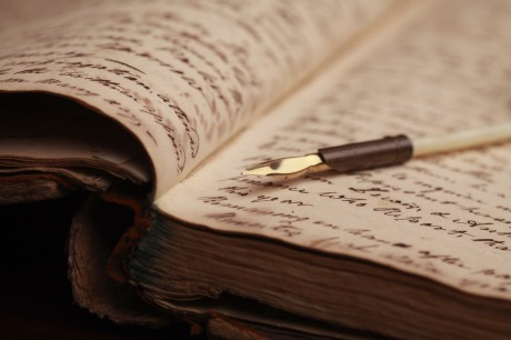 Written Pages and Pen
